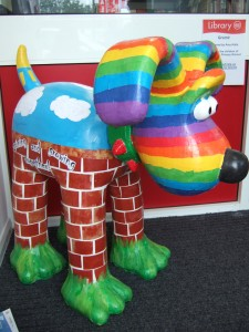 Local schools Gromit I helped the children create